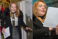 Mikulášský bazar VIZE 97: Dagmar Havlová ukázala oteklou tvář