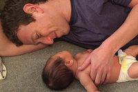 Tatínkova holčička! Mark Zuckerberg zveřejnil roztomilou fotku s dcerou Maximou