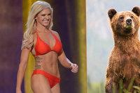 Blonďatá misska má průšvih, bez povolení zastřelila grizzlyho