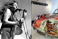 Psychadelické porsche zpěvačky Janis Joplin (†27) se v dražbě prodalo za 40 milionů