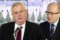 Zeman vystoupením s Konvičkou vážně pochybil, obul se do prezidenta Sobotka