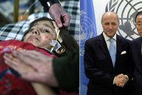 Rada bezpečnosti OSN podpořila mír v Sýrii. Ruku zvedli všichni