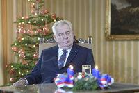 Šťastné prezidentské: S kým Zeman trávil Vánoce a co našel pod stromečkem?