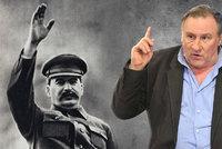 Depardieu bude mít na rukou krev milionů: Zahraje si Stalina