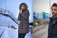Zamilovaná uprchlická dvojice společně putovala do Británie, osud je ale rozdělil