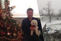 """Škromacha nadchl """"sněžínkový den"""", Peake ukázala rodinu, Okamura pudla"""
