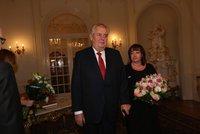 Na Pražském hradě to v pátek ožije: Miloš Zeman s manželkou pořádají reprezentační ples