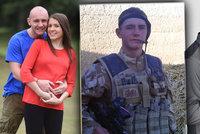 Zázrak: Voják přišel při boji o nohy a penis, narodilo se mu dítě!