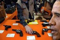 Obama zpřísní prodej a držení zbraní. Kongresu navzdory