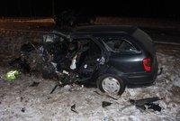 Po nehodě na Svitavsku zemřeli dva lidé: Viník vyvázl s lehkým zraněním