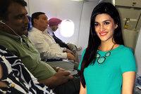 Pasažér sledoval v letadle pirátskou verzi filmu, jeho hlavní hrdinka seděla vedle něj!