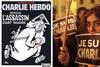 """Rok od útoků na Charlie Hebdo: Krvavý """"Bůh terorista"""" provokuje na obálce"""