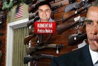 """Komentář: Obama slzel kvůli zbraním jako Bárta kvůli Kočí. Vykoupí lidé """"kvéry""""?"""
