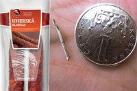 V klobáse Babišovy firmy v Lidlu našli kus injekční jehly. Agrofert uznal chybu