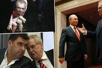 Ukrajinci kritizovali v televizi českého prezidenta. Zeman prý slouží Kremlu