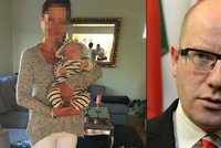 Odebranou devítiměsíční holčičku řešil už i Sobotka. Matce nabídl pomoc v Norsku