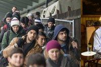 Češi souzní se Zemanem. Uprchlíky vnímají jako hrozbu, v Česku je nechtějí