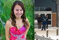 Masakr na škole v Kanadě: Střelec zabil dva sourozence, učitelku a jednu dívku