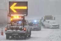 Sněhová superbouře si už vyžádala první mrtvé. V USA zasáhne 80 milionů lidí