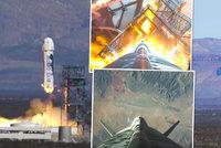 Raketa šéfa Amazonu dokázala opět sama přistát. Bude zásobovat i sklad u Prahy?