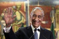 Portugalci mají nového prezidenta, na inauguraci přišel pěšky