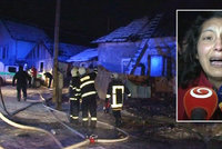Při požáru v romské osadě zemřely tři děti: Matka stihla zachránit jen dvě
