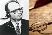 Tajný dopis strůjce holocaustu Eichmanna: Prosí Izrael o milost, je prý nevinný