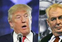 Jako vejce vejci? Zeman a Trump jsou podle ruské televize názorová dvojčata