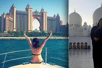 """""""Měla jsem se jako královna."""" Češku okouzlila Dubaj i muslimští gentlemani"""