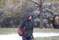 Déšť, sníh, náledí, teploty nad nulou: Takový bude víkend