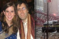 David z Prahy, kterého v New Yorku zabil jeřáb: Génius na čísla a anděl, truchlí manželka Rebecca a přátelé