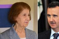 Smutek syrského prezidenta. Přišel i o matku, zemřela v Damašku