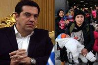 Bude Řecko blokovat dohody EU? Tsipras tím hrozí kvůli uprchlíkům