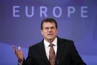 Češi chtějí do čela Evropské komise Slováka Šefčoviče. Podporu má u socialistů