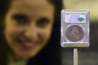 Nejdražší mince světa je v Česku. Čtyři dny stráví v Národním muzeu
