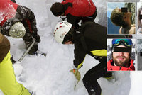 Šel dva metry za mnou a je mrtvý, svěřil se přeživší z laviny, která zabila pět Čechů