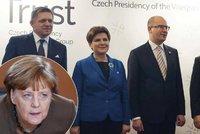"""Vzpoura zemí V4 proti Merkelové a uprchlíkům? """"Spiklenci"""" se sejdou v Praze"""