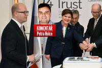 Komentář: Visegrádská čtyřka, naše východní cesta. To radši pozvat Merkelovou