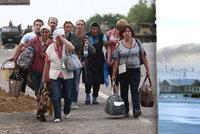 Rusové chtějí pomoct uprchlíkům. Ukrajince pošlou na Sibiř