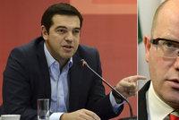 Tsipras zaútočil na Sobotku: Vojáci u řeckých hranic? To není přátelské