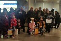 V Praze přistáli další uprchlíci z Iráku. Zamíří na Moravu i k Jihlavě
