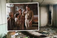 Bezdomovci zničili třídu Igora Hnízda. A další místa Obecné školy po 25 letech