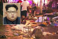 Kim plánuje teroristický útok proti Jihu, varují rozvědky a západní pozorovatelé