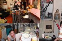Jak žil Ivan Jonák před smrtí? Přeplácaný byt, bordel v kuchyni, spousta žen a jídla. Zdi zůstaly růžové jako v Discolandu!