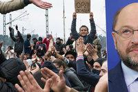 Jeden dva miliony uprchlíků se v Evropě ztratí, tvrdí šéf europarlamentu