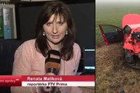 Reportéry z Primy srazil u nehody autobusu s dětmi kamion: Skončili v nemocnici
