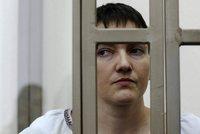 """""""Savčenková je vinna,"""" rozhodli Rusové. Hladovějící pilotka čeká na výši trestu"""