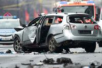 Auto v Berlíně explodovalo přímo za jízdy. Odpálila ho bomba, řidič zemřel