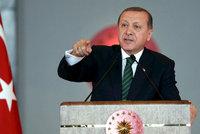 Erdogan rozšiřuje definici terorismu: Chce stíhat novináře i akademiky