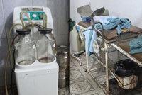 Syrská realita: Mezi rezavými kyblíky od krve se denně narodí 15 dětí